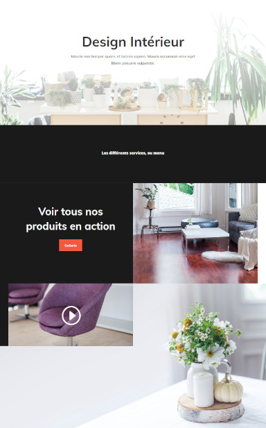 site de design interieur par totum orbem creation de site internet