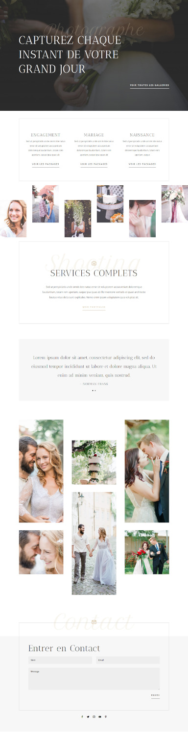 site photographe par totum orbem creation de site internet