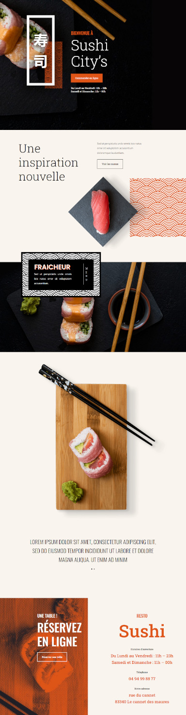 site sushi par totum orbem creation de site internet